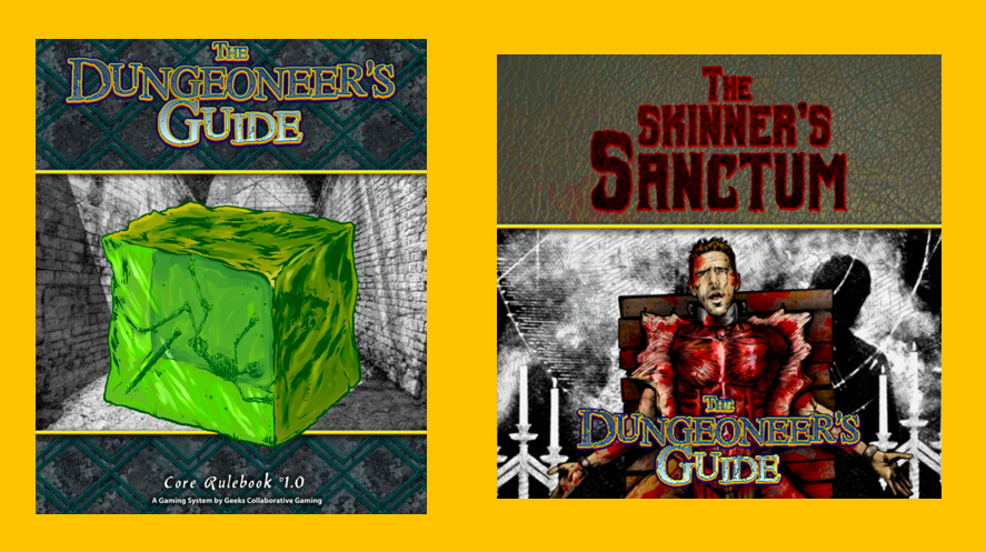 Skinner's Sanctum and The Dungeoneer's Guide Bundle