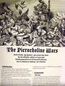 The Picrocholine Wars